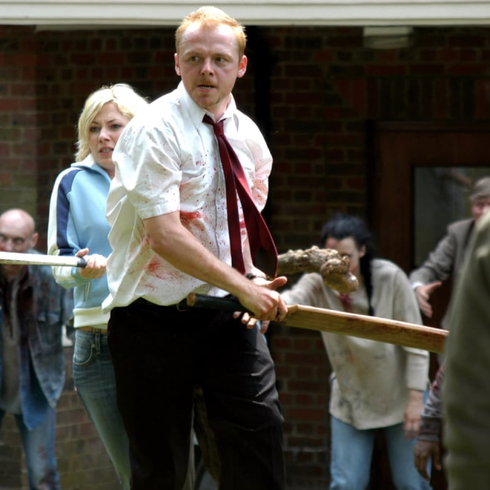 Shaun of the Dead Costume - Shaun of the Dead Fancy Dress - Shaun Blood