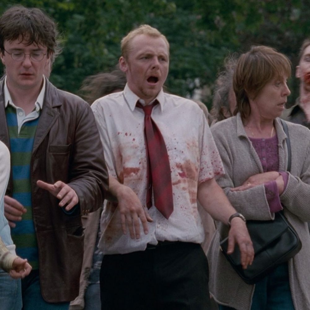 Shaun of the Dead Costume - Shaun of the Dead Fancy Dress - Shaun Shirt