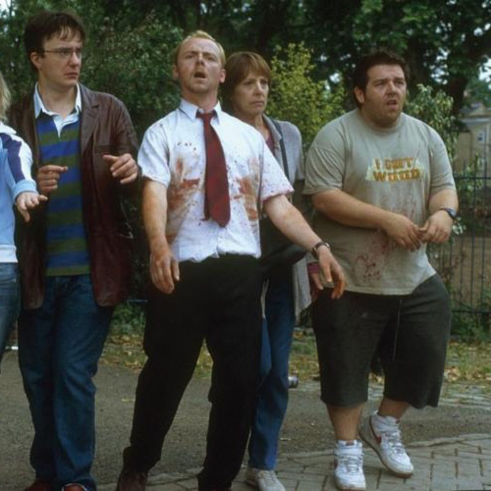 Shaun of the Dead Costume - Shaun of the Dead Fancy Dress - Shaun Shoes