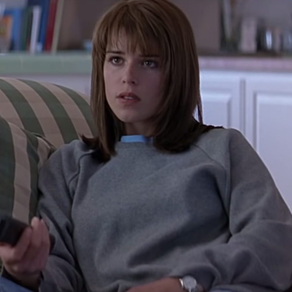 Sidney Prescott Costume - Scream Fancy Dress - Sidney Prescott Sweatshirt