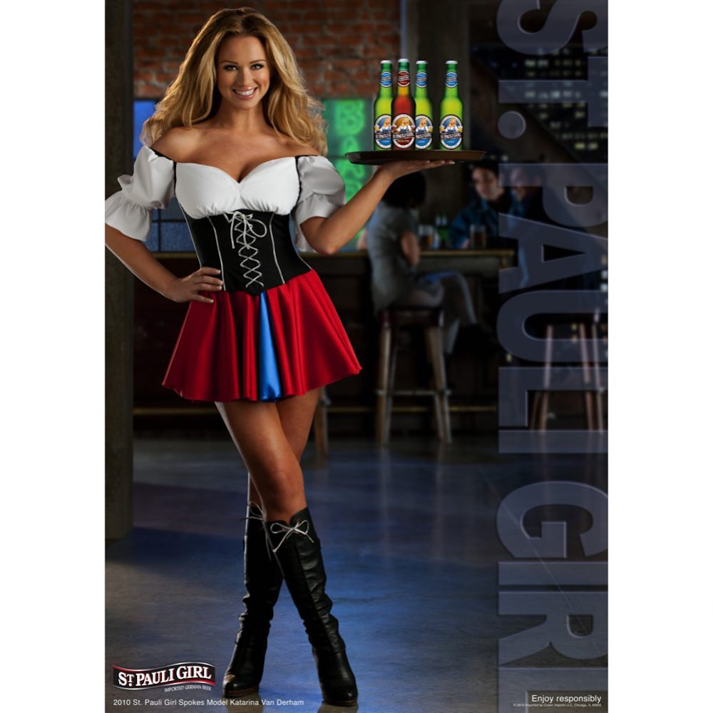 St Pauli Girl Costume - St Pauli Girl Fancy Dress - St Pauli Girl Boots