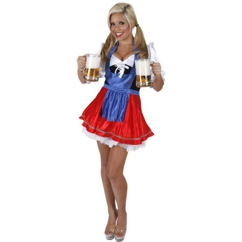 St Pauli Girl Costume - St Pauli Girl Fancy Dress - St Pauli Girl Complete Costume