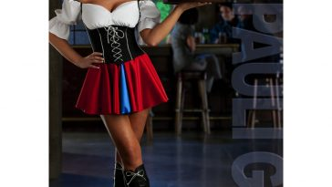 St Pauli Girl Costume - St Pauli Girl Fancy Dress - St Pauli Girl Cosplay