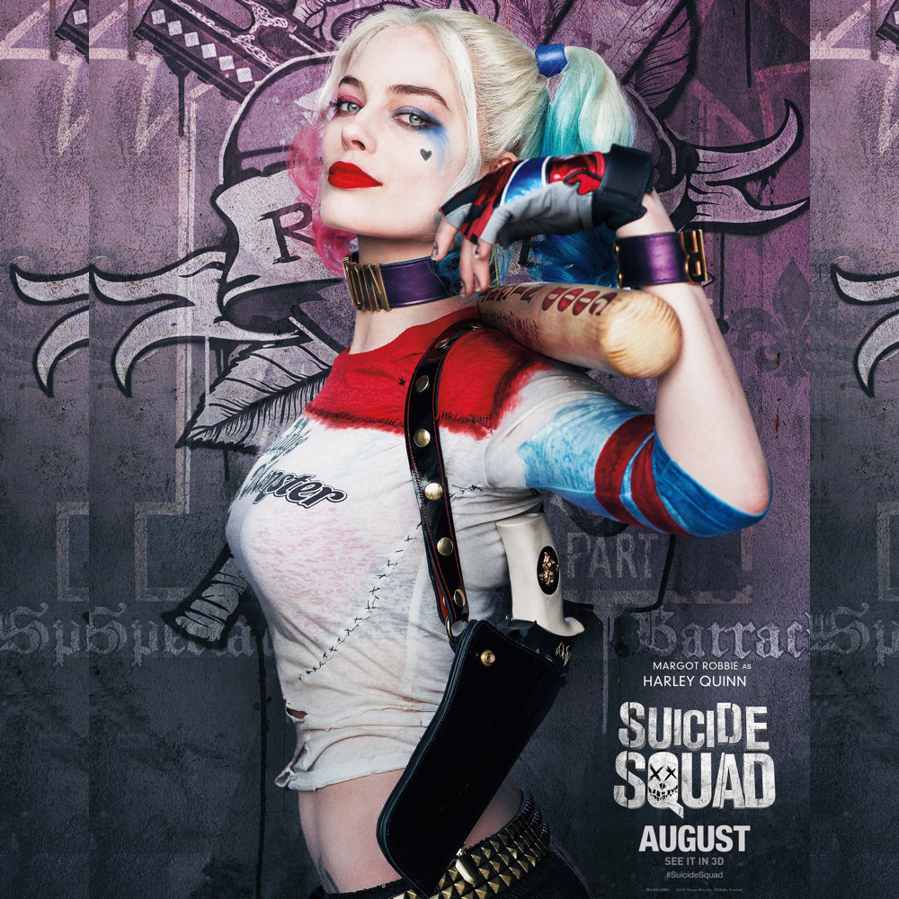 Margot Robbie Harley Quinn Costume - Harley Quinn holster - Suicide Squad Costume