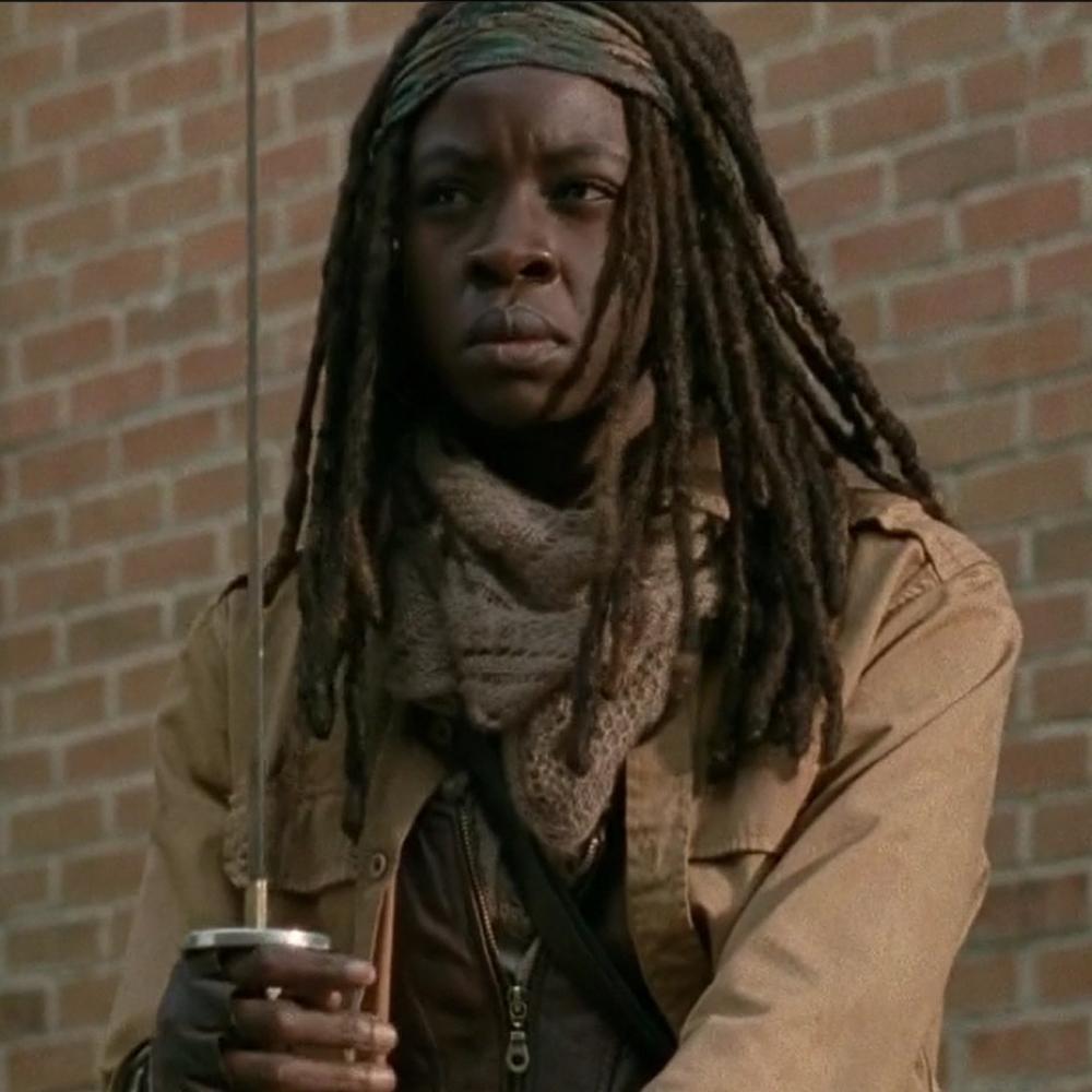 Michonne Costume - Michonne Scarf - The Walking Dead