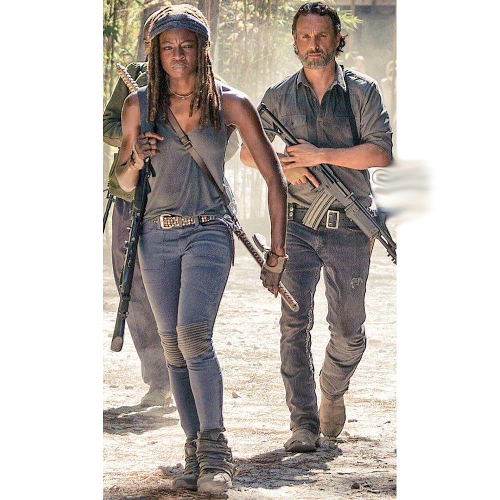 Michonne Costume - Michonne Tank Top - The Walking Dead