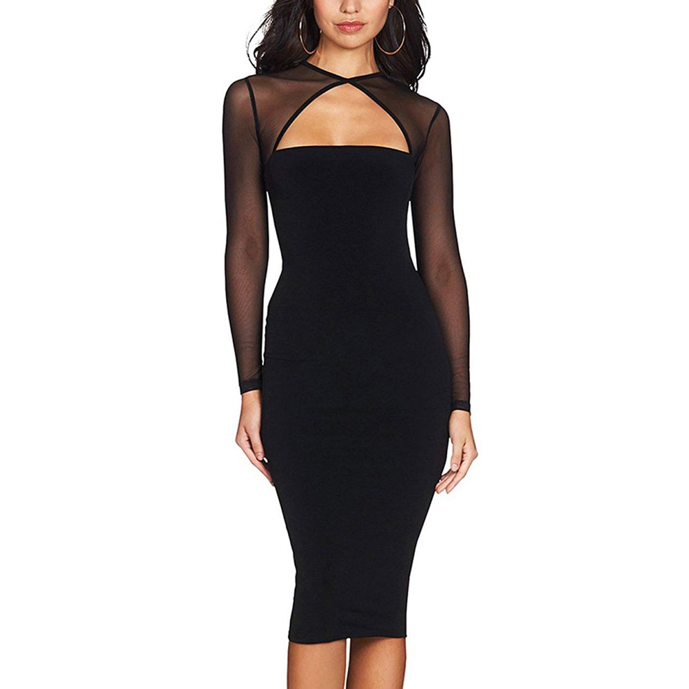 Naomi Belfort Costume - Margot Robbie - Naomi Belfort Black Dress