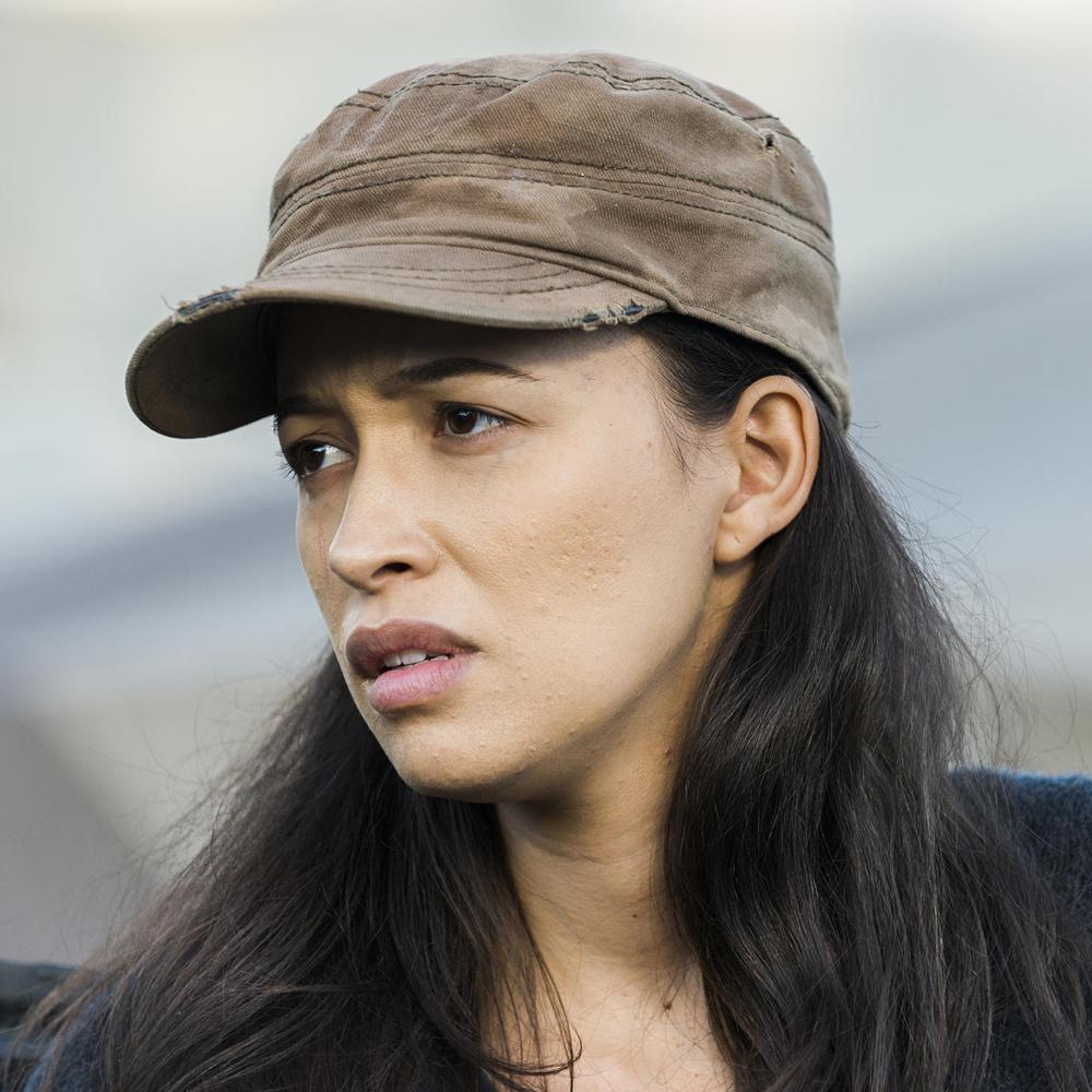Rosita Espinosa Costume - Rosita Espinosa Cap - The Walking Dead