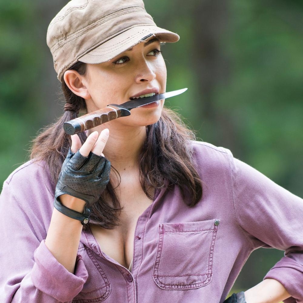 Rosita Espinosa Costume - Rosita Espinosa Gloves - The Walking Dead