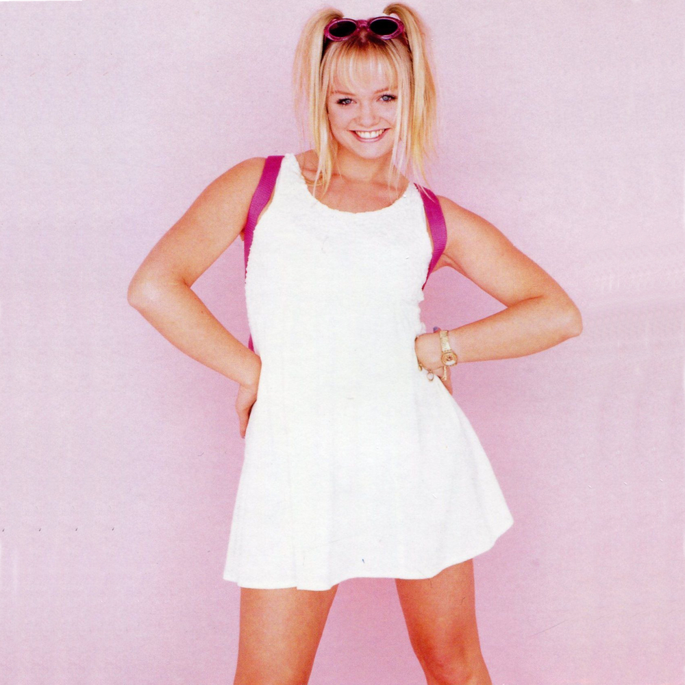 Baby Spice Costume - Spice Girls Costume - Baby Spice Pig Tails
