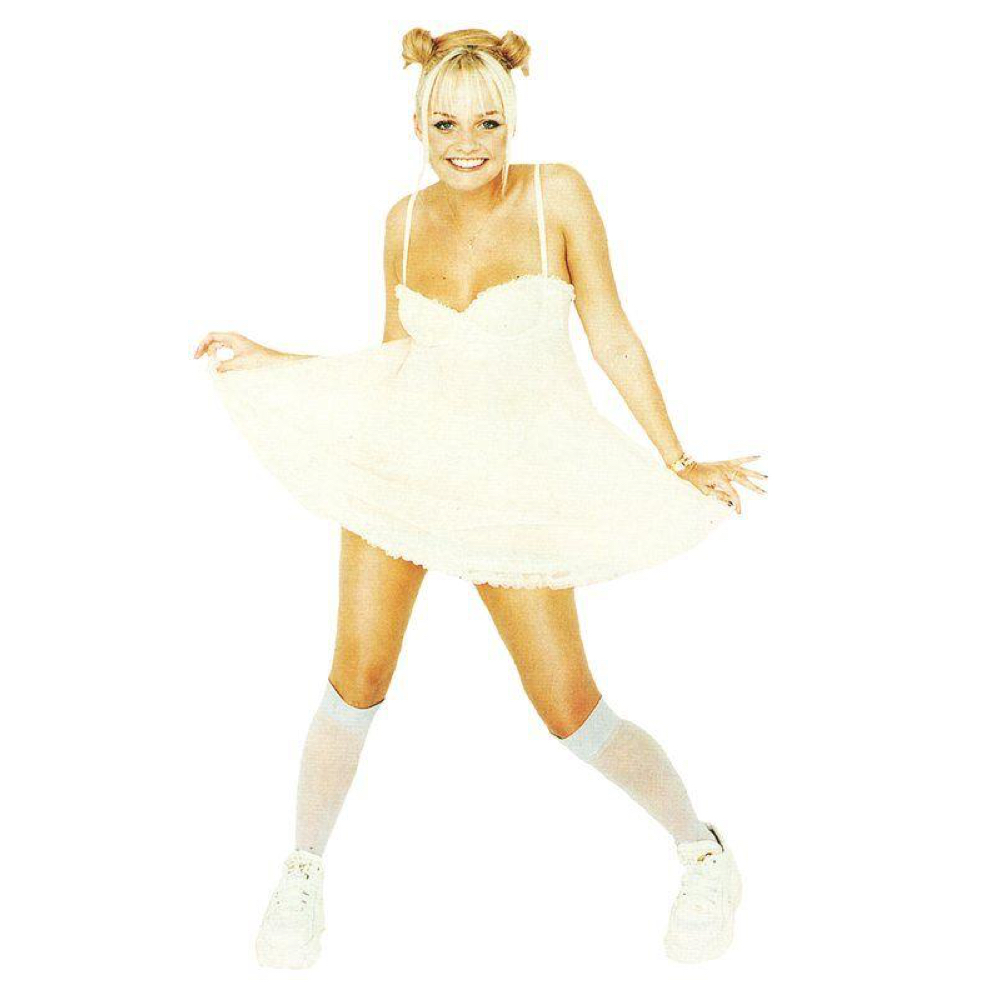 Baby Spice Costume - Spice Girls Costume - Baby Spice Socks