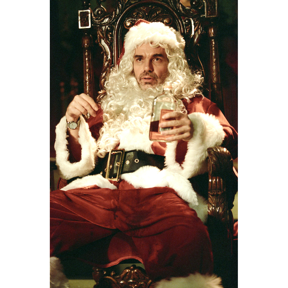 Bad Santa Costume - Bad Santa Hip Flask