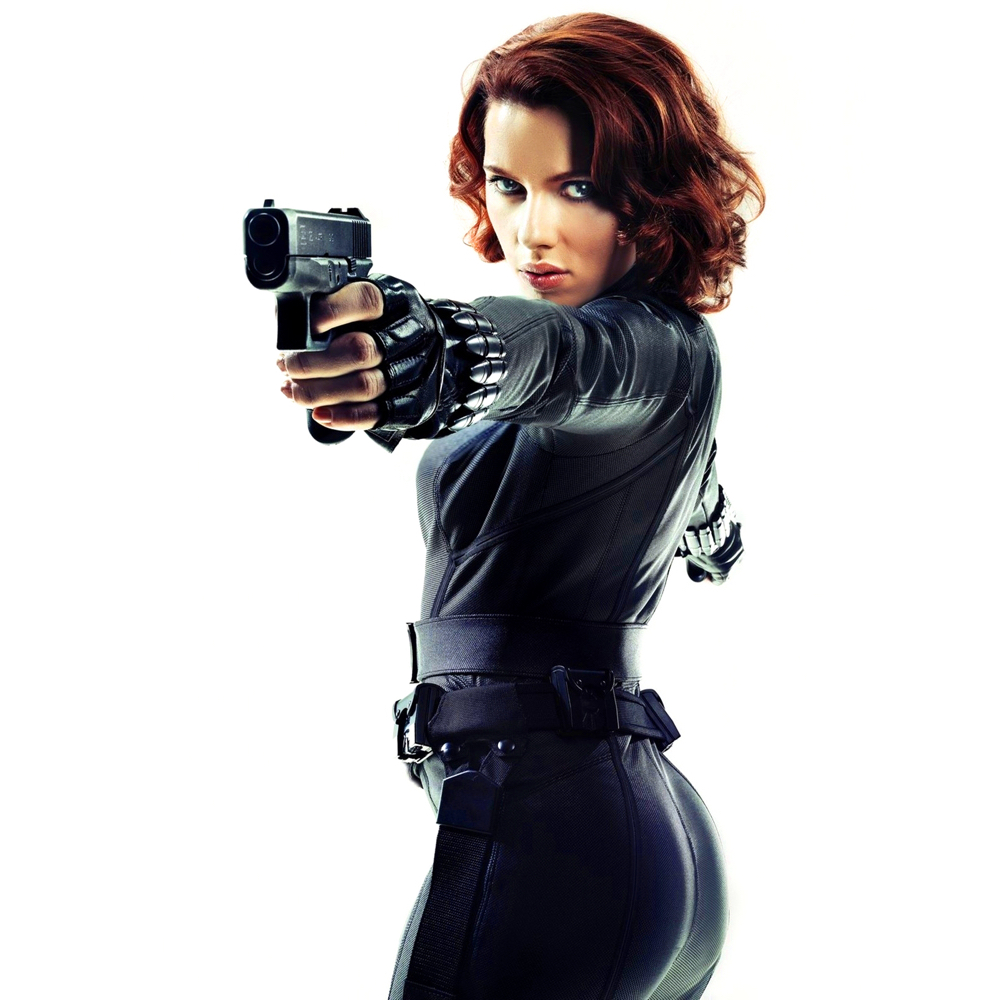 Black Widow Costume - Black Widow Gun