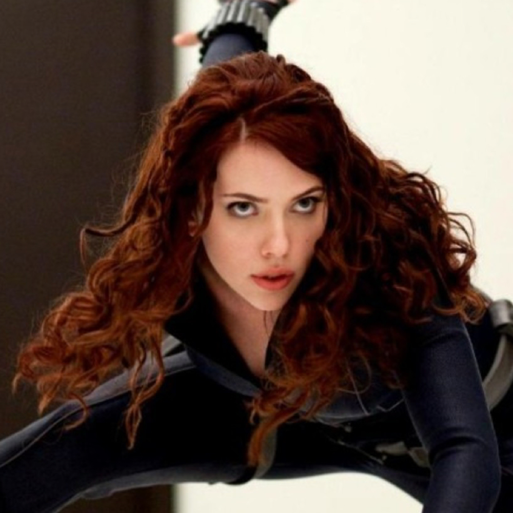 Black Widow Costume - Black Widow Hair - Black Widow Wig