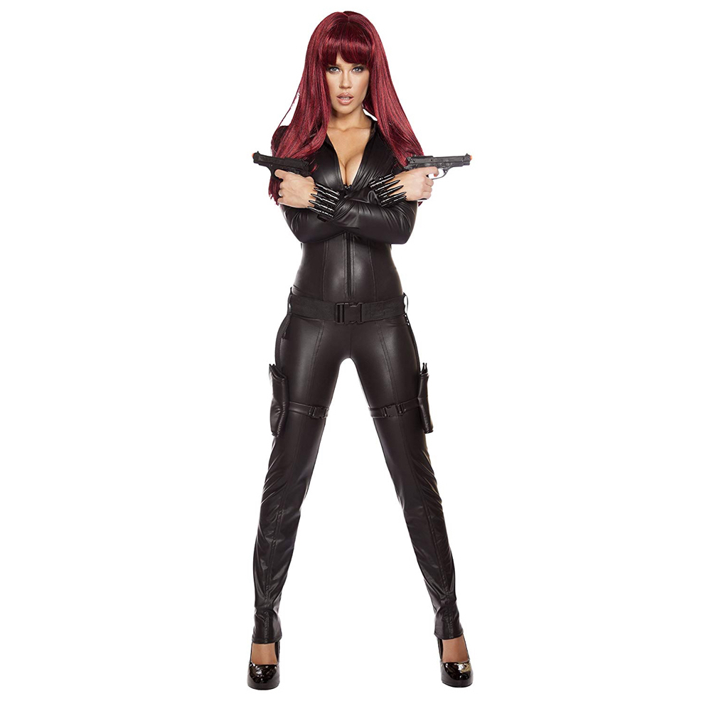 Black Widow Costume Avengers Assemble Black Widow Cosplay