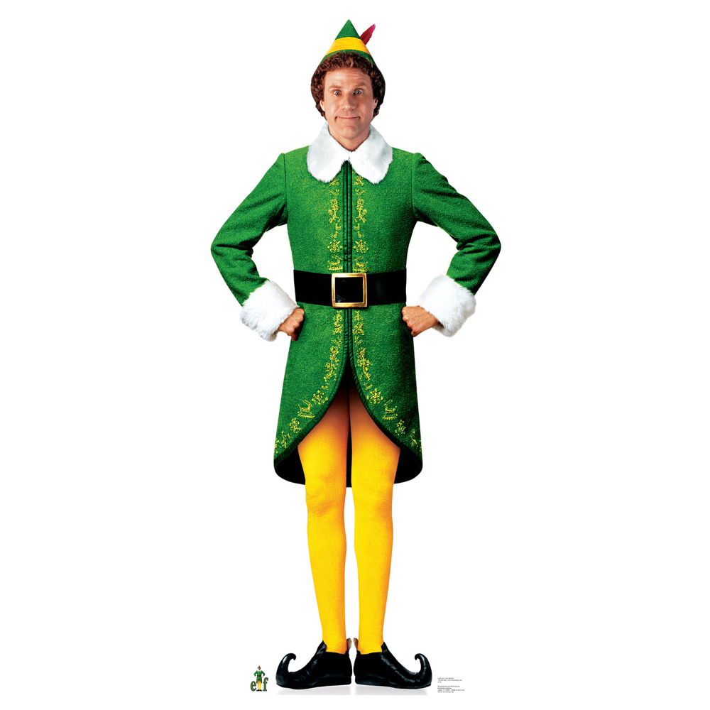 Buddy The Elf Costume - Buddy The Elf Shoes
