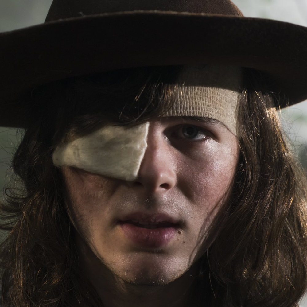Carl Grimes Costume - The Walking Dead - Carl Grimes Eye Patch