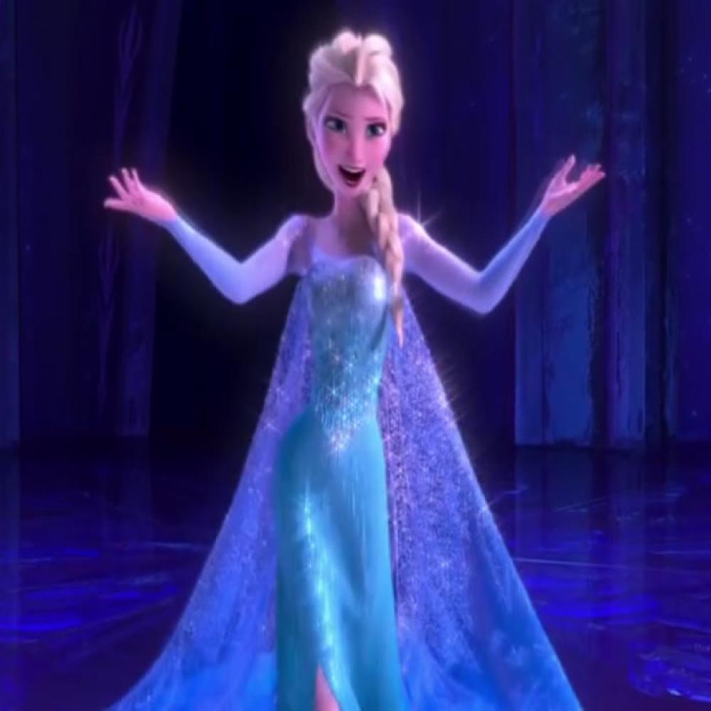 Elsa Frozen Costume - Elsa Cloak
