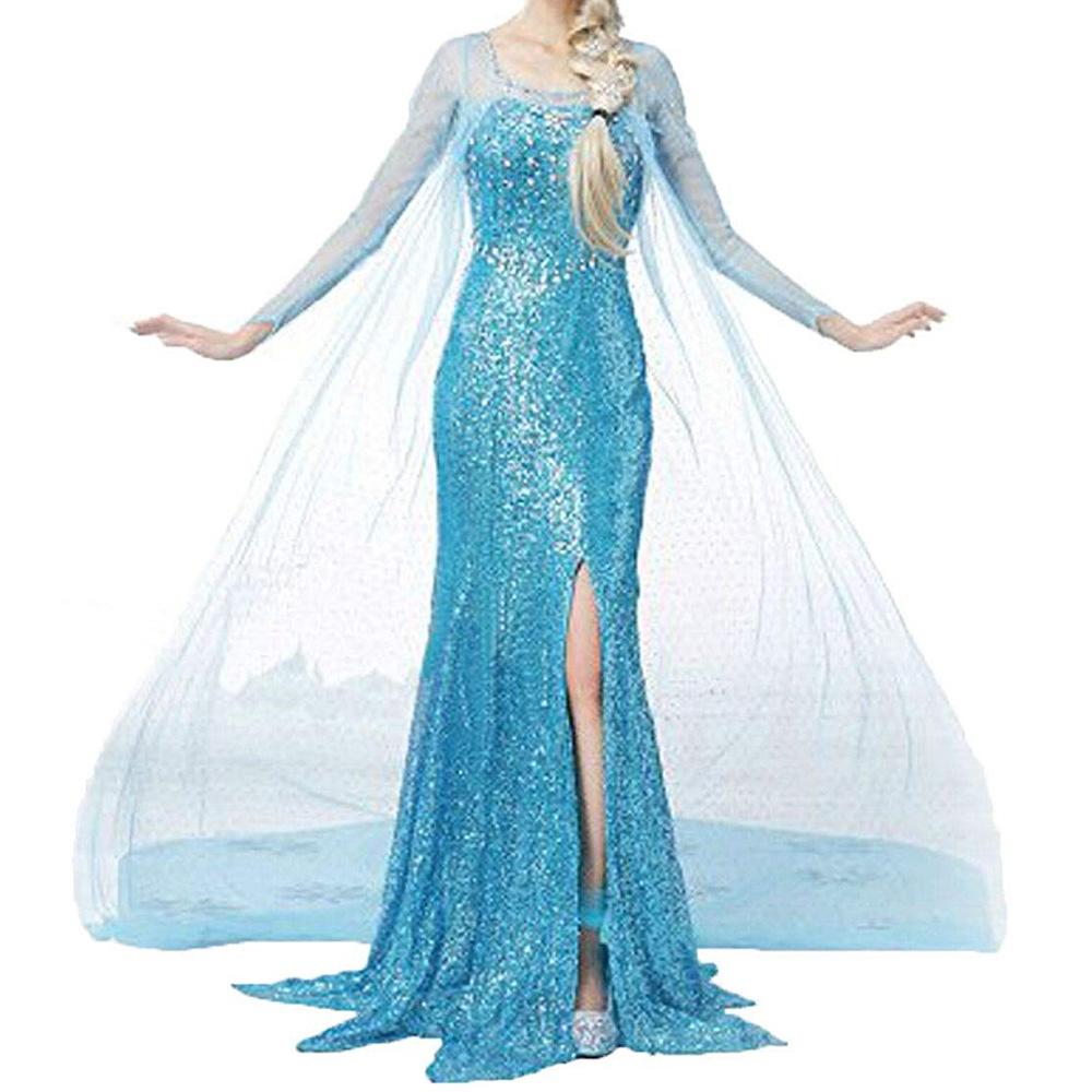 Elsa Frozen Costume - Elsa Dress