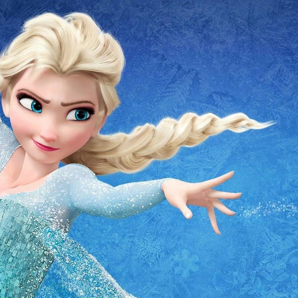 Elsa Frozen Costume - Elsa Body and Hair Glitter