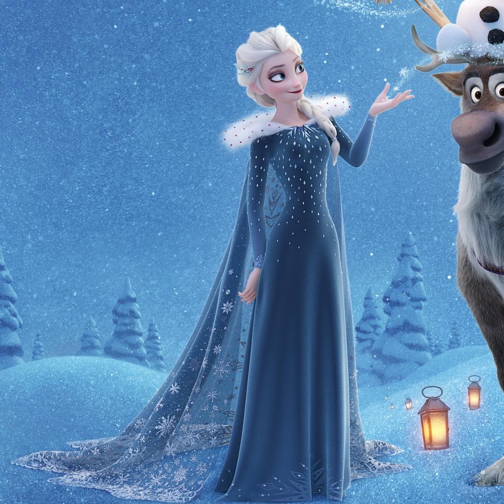 Elsa Frozen Costume - Elsa Shoes
