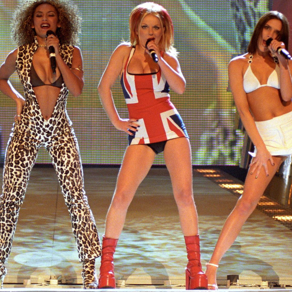 Ginger Spice Costume - Spice Girls Costume - Ginger Spice Red Boots