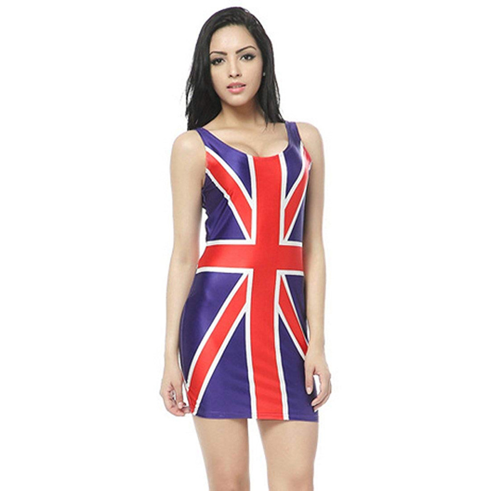 Ginger Spice Costume - Spice Girls Costume - Ginger Union Jack Dress