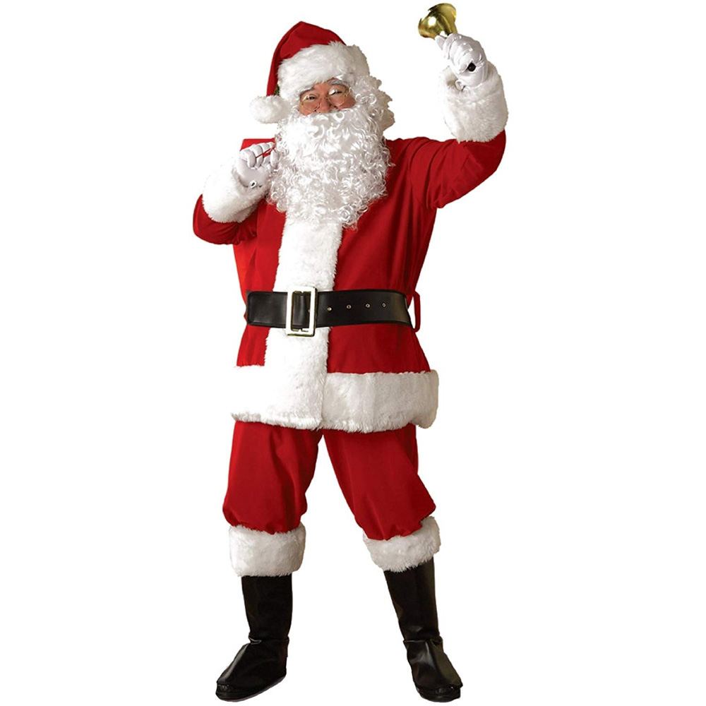 The Grinch Costume - The Grinch Santa Suit