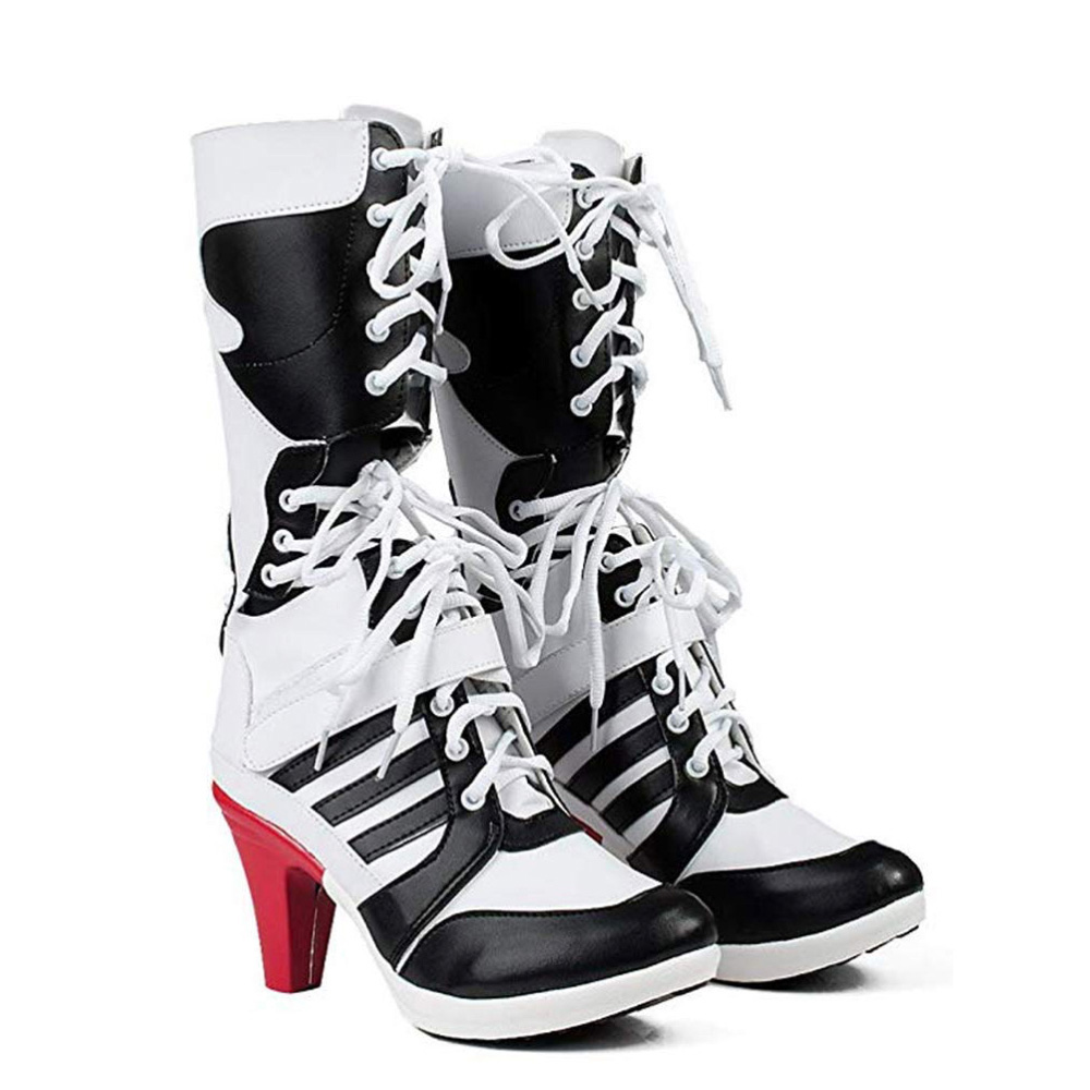 Harley Quinn Costume - Harley Quinn Boots - Suicide Squad Costume