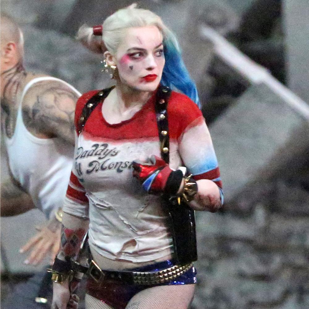 Margot Robbie Harley Quinn Costume - Harley Quinn bracelet - Suicide Squad Costume
