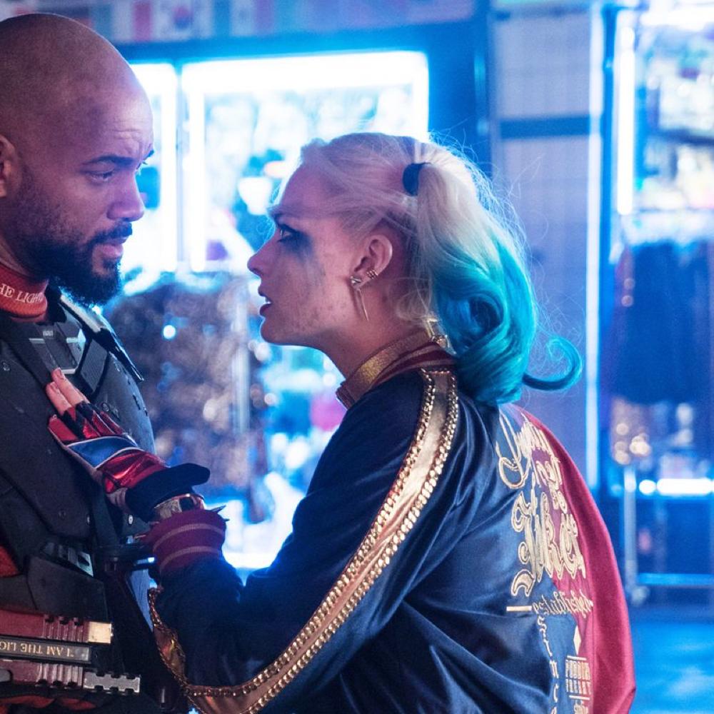 Margot Robbie Harley Quinn Costume - Harley Quinn jacket - Suicide Squad Costume