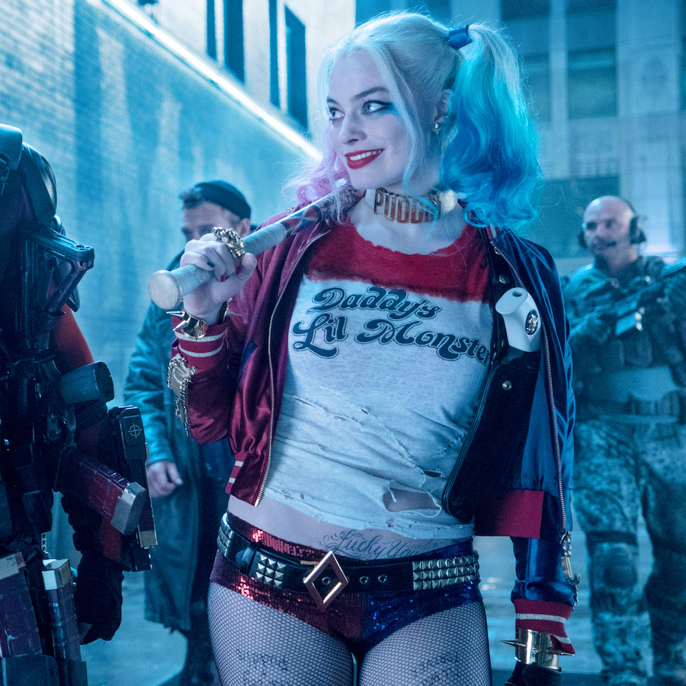 Margot Robbie Harley Quinn Costume - Harley Quinn shorts - Suicide Squad Costume
