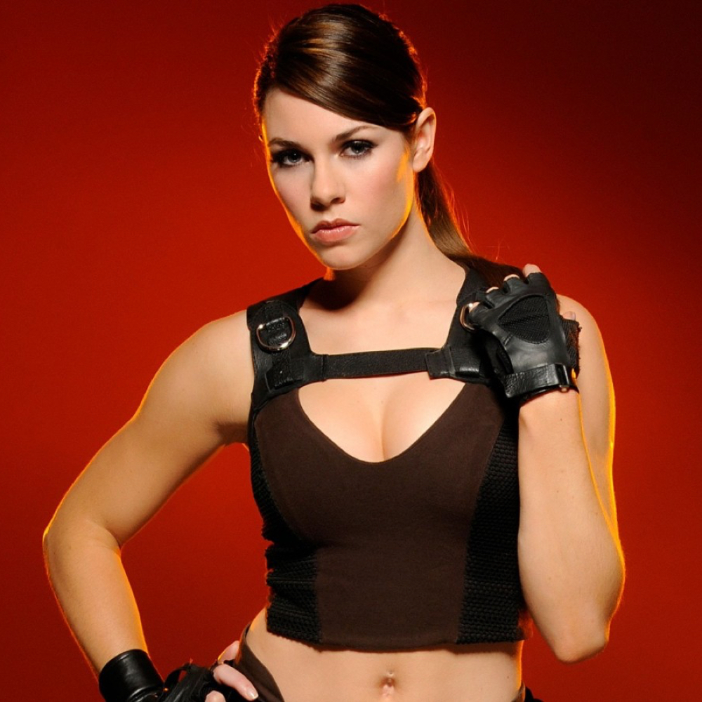 Lara Croft Cosplay Costume - Lara Croft Gloves - Tomb Raider Outfits
