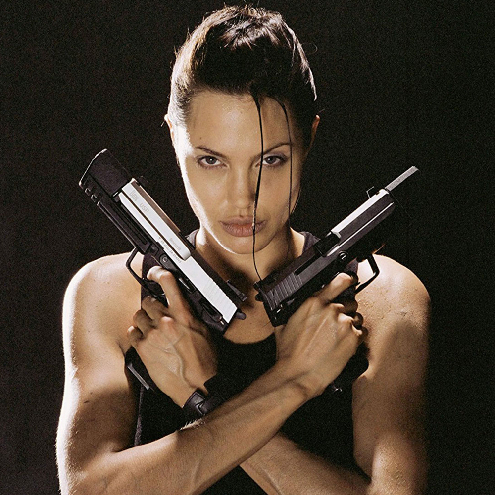 Lara Croft Cosplay Costume - Lara Croft Gun - Tomb Raider Outfits