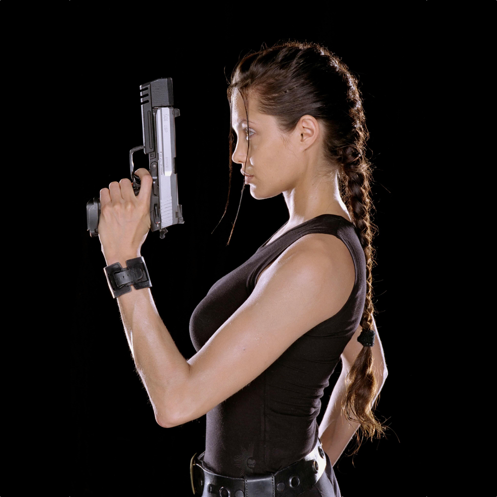 Lara Croft Cosplay Costume - Lara Croft hair - Tomb Raider Outfits