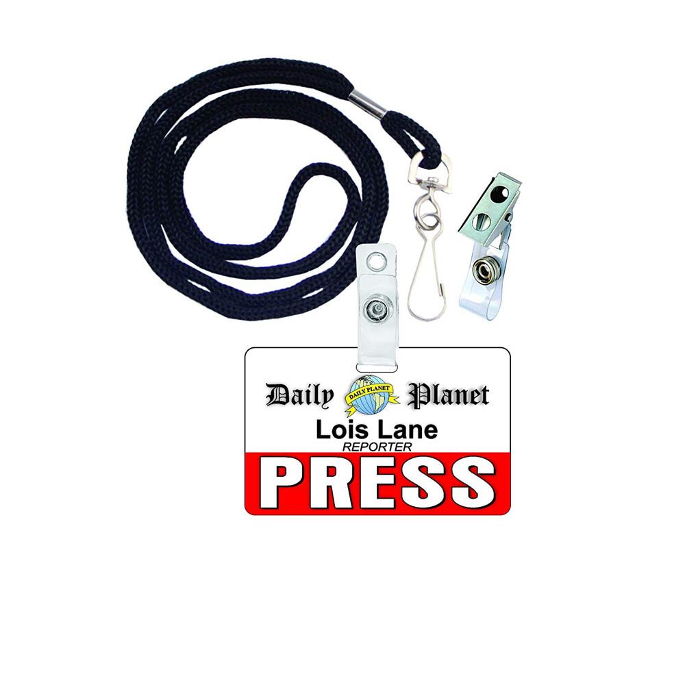 Lois Lane Costume - Lois Lane ID Badge- Man of Steel Costume