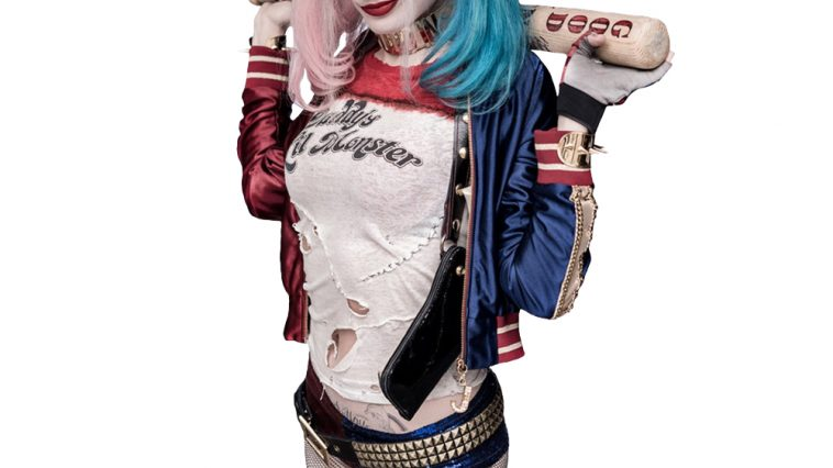 Harley Quinn Margot Robbie Harley Quin Costume - Suicide Squad costume