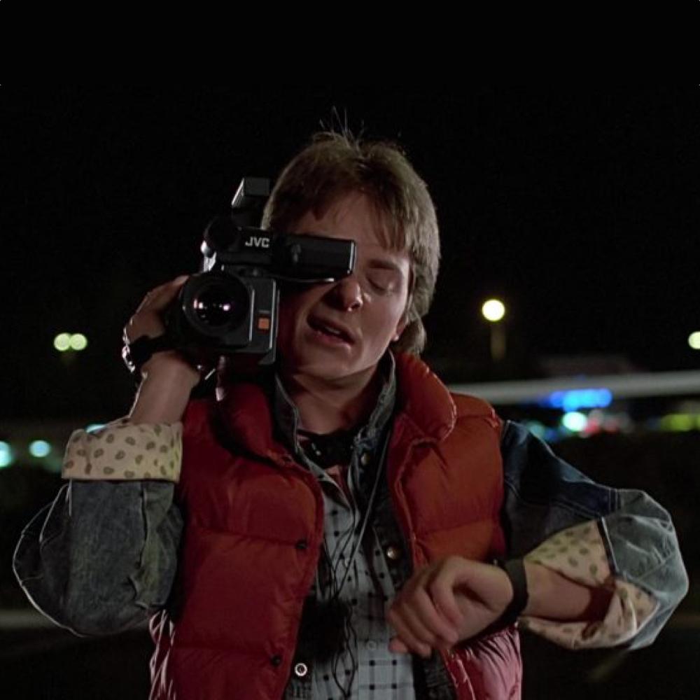 Marty McFly Costume - Marty McFly Denim Jacket