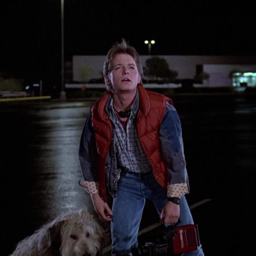 Marty McFly Costume - Marty McFly Shirt