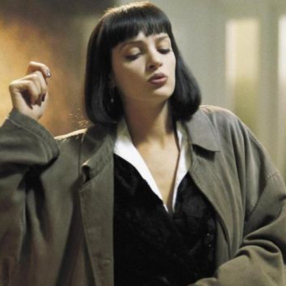Mia Wallace Costume Dress Like Mia Wallace Pulp Fiction Costume