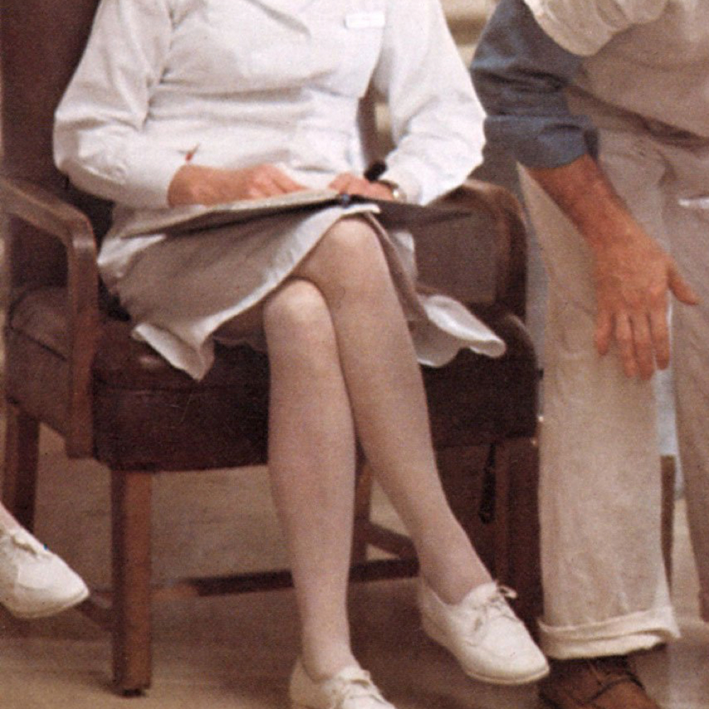 Nurse Ratched Costume - Nurse Ratched Shoes