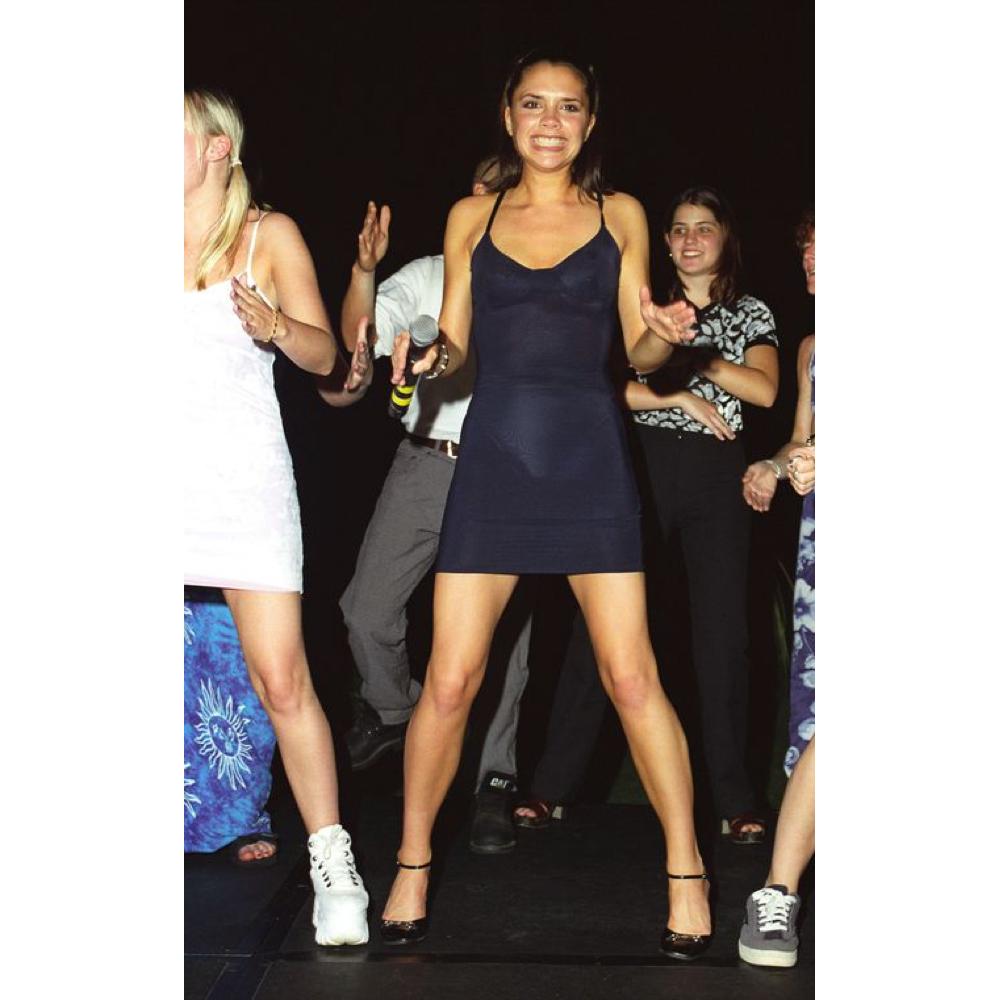 Posh Spice Costume - Spice Girls Costume - Posh Spice High Heels