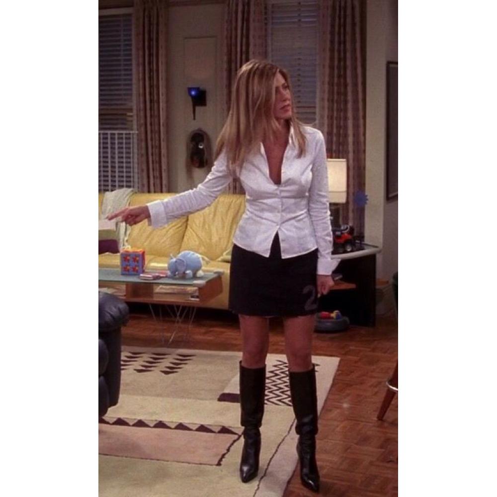 Rachel Green Costume - Dress Like Rachel Green - Rachel Green Boots and Blouse