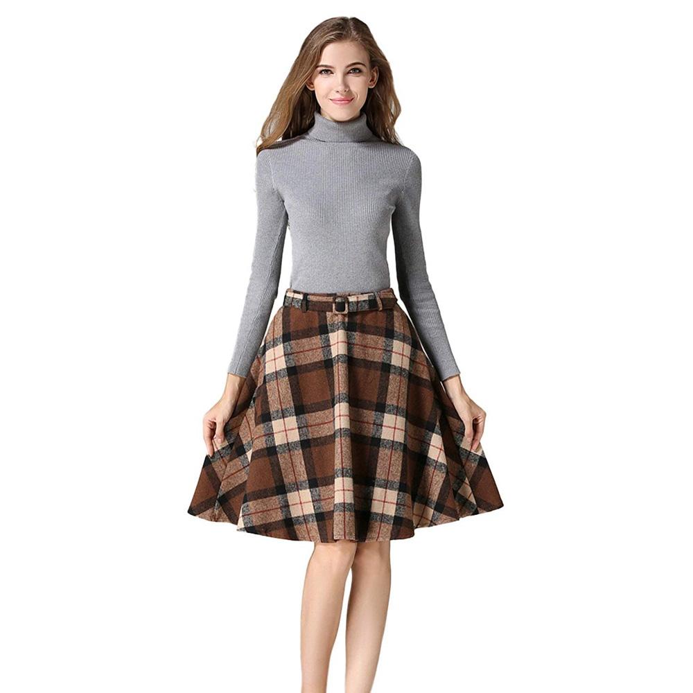 Rachel Green Tartan Skirt