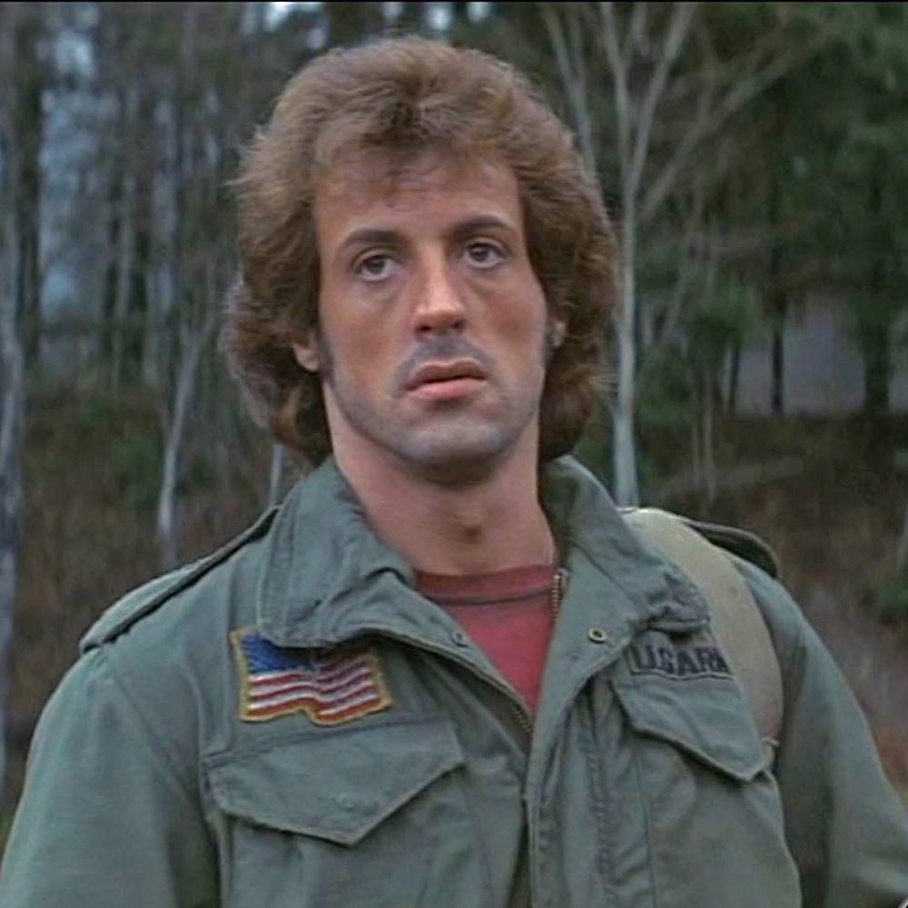 Rambo Costume - Rambo Hair Wig