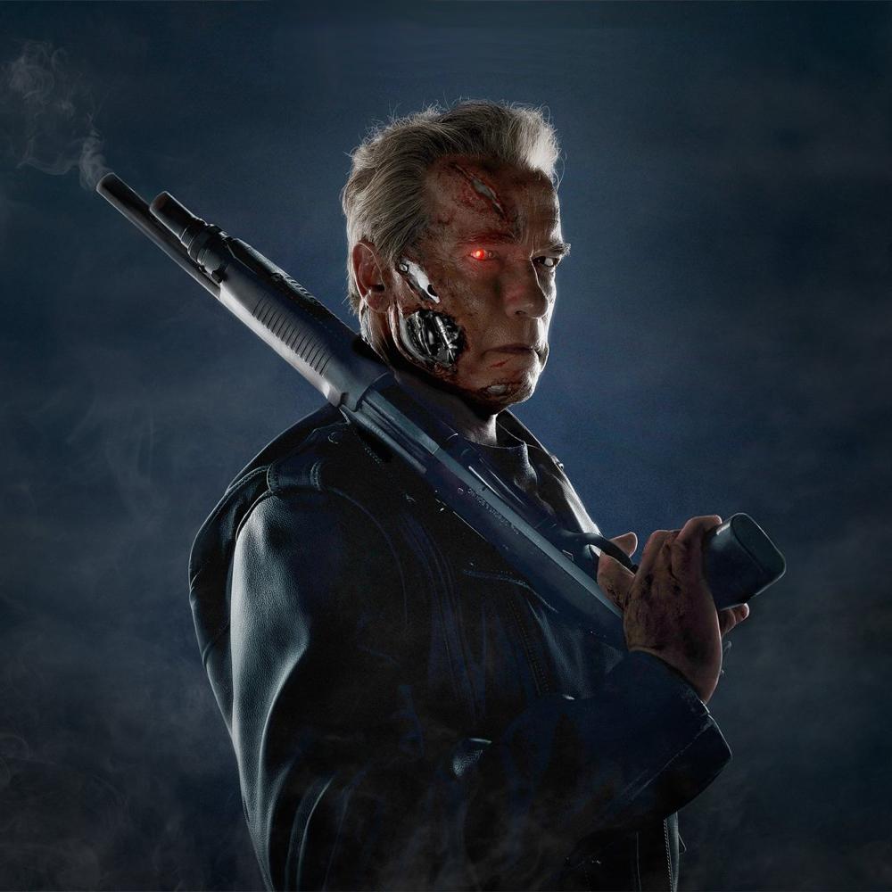 Terminator Costume - Terminator Gun