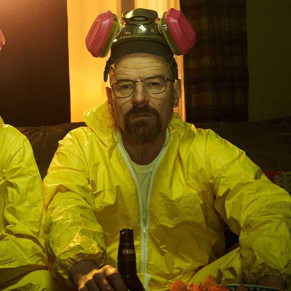 dress like Walter White costume - Heisenberg respirator